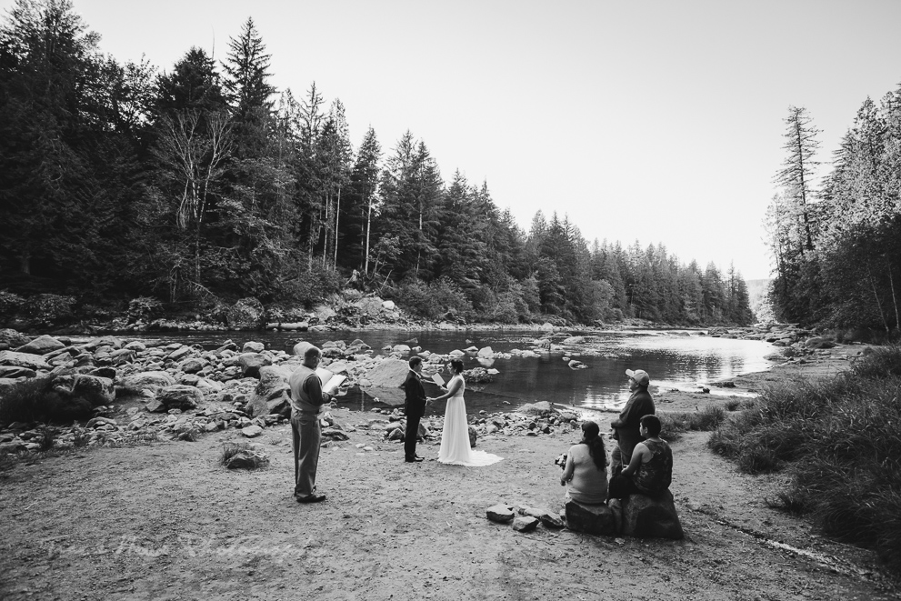 Snoqualmie Falls wedding photography