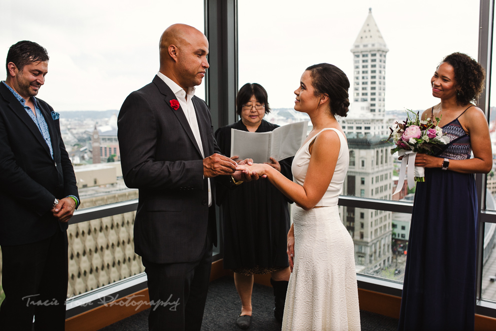 Seattle Municipal Courthouse wedding photography