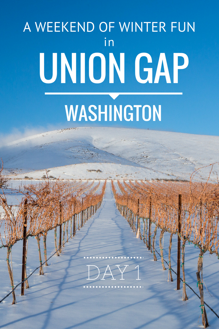 A weekend of winter fun in Union Gap Washington - Tracie Travels