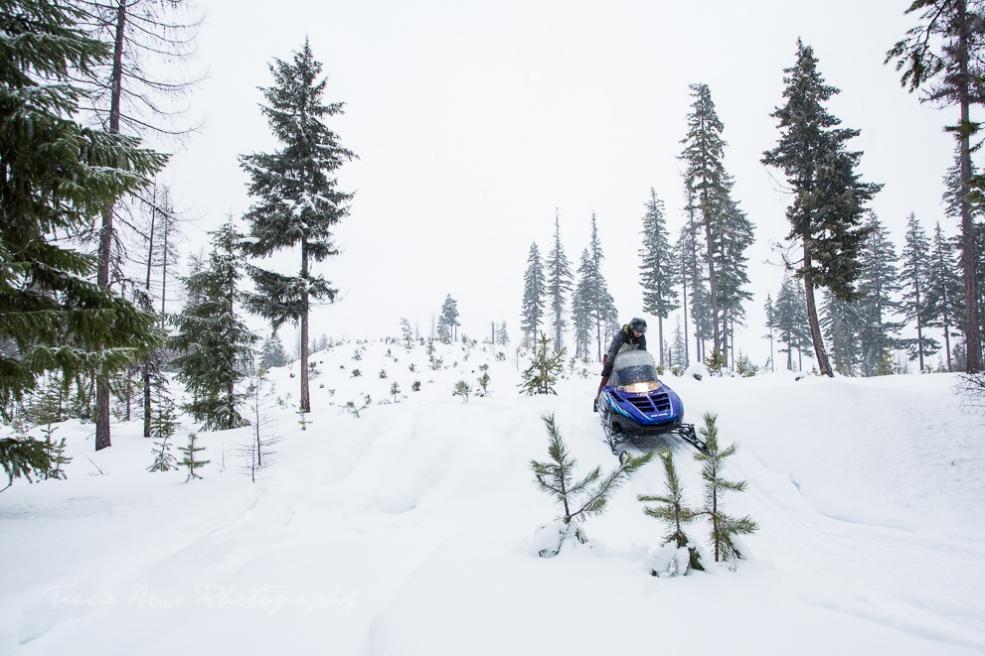 Union Gap snowmobiling