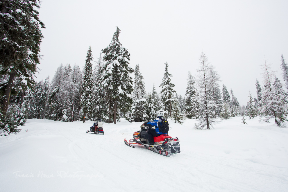snowmobiling in Union Gap