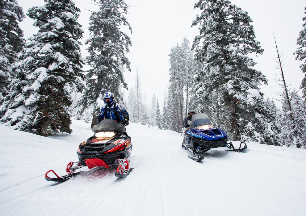 Union Gap snowmobiling