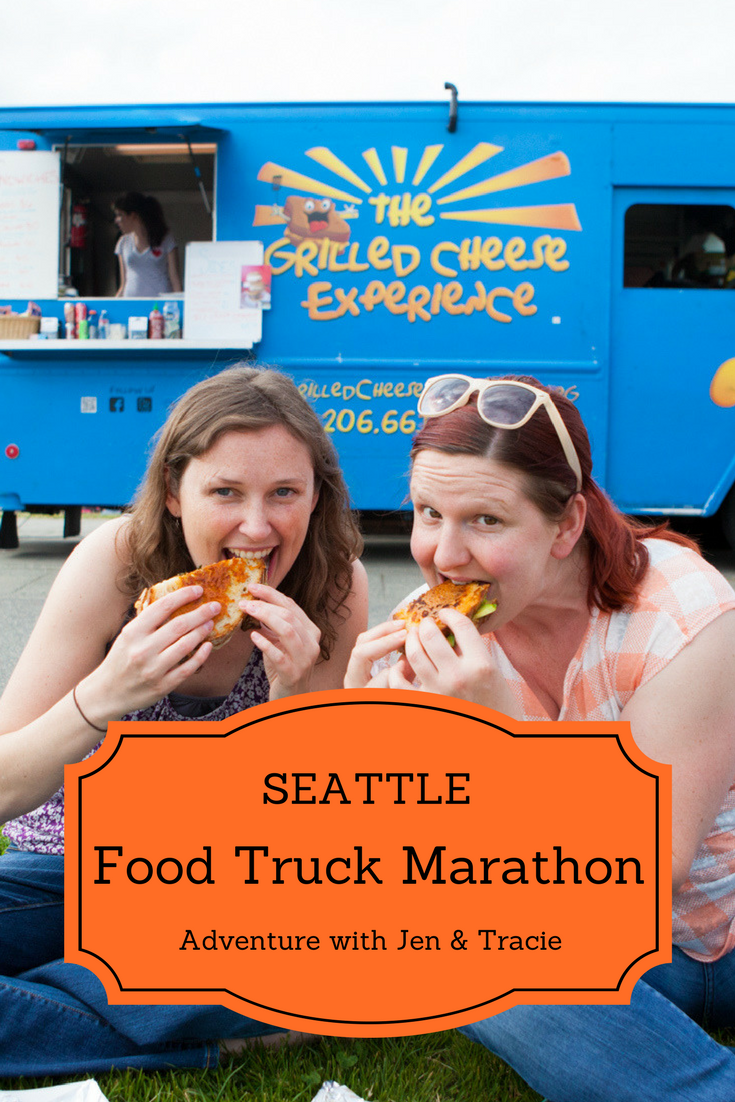 Seattle Food Truck Marathon - A day of mobile feasting with Jen & Tracie