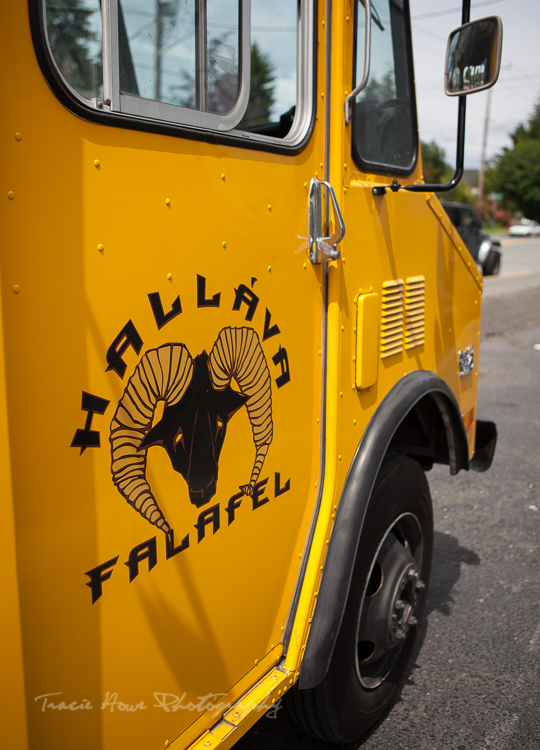 Hallava Falafel food truck