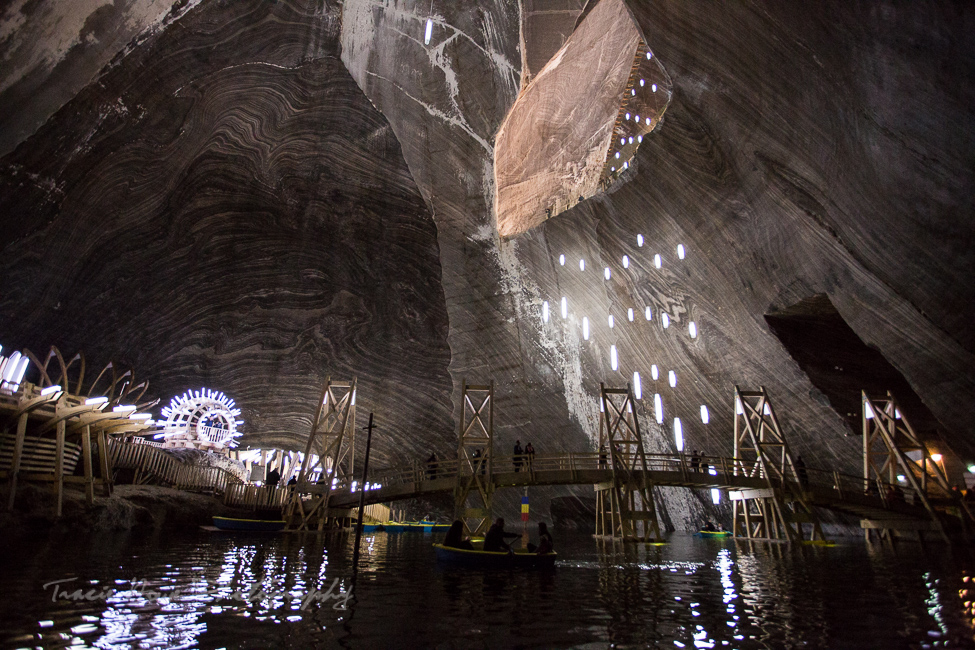 Salina Turda salt mines in Romania