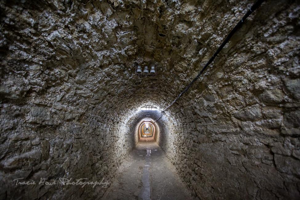 Salina Turda mines tunnel