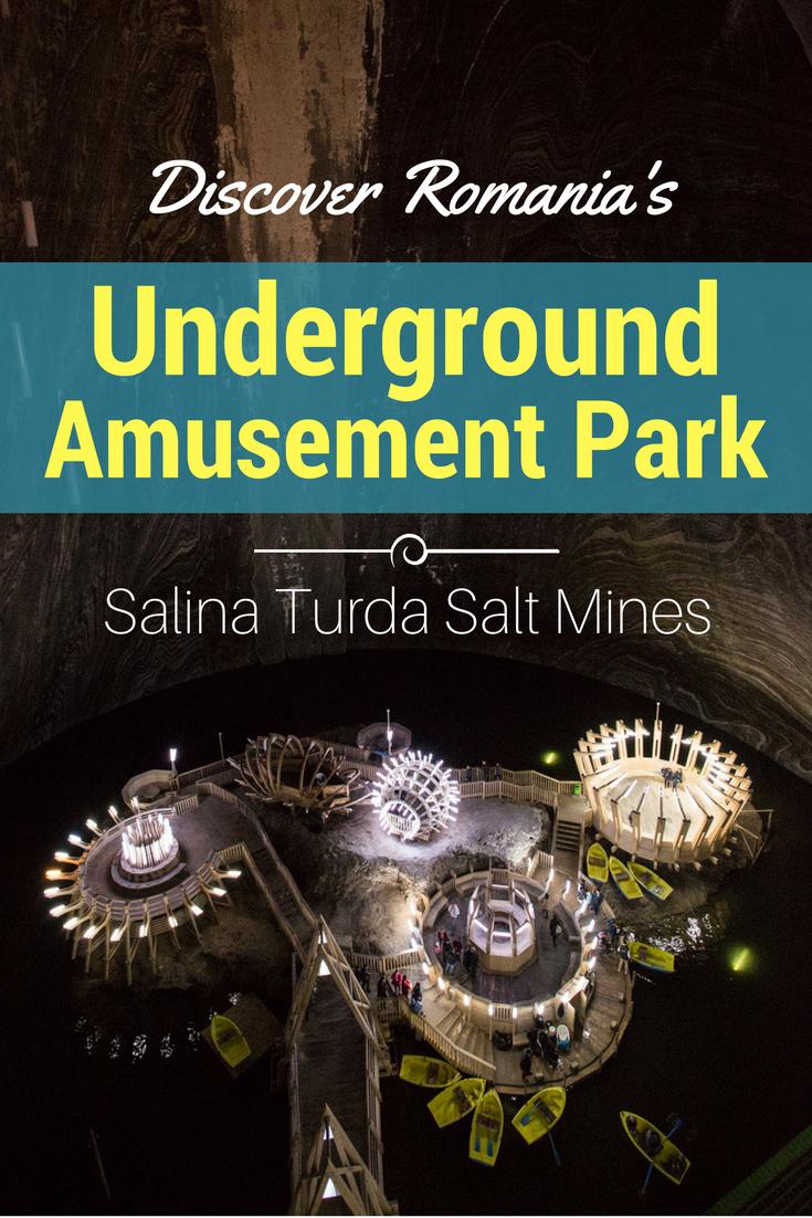 Discover Romania's Underground Amusement Park - Salina Turda Salt Mines | Tracie Travels