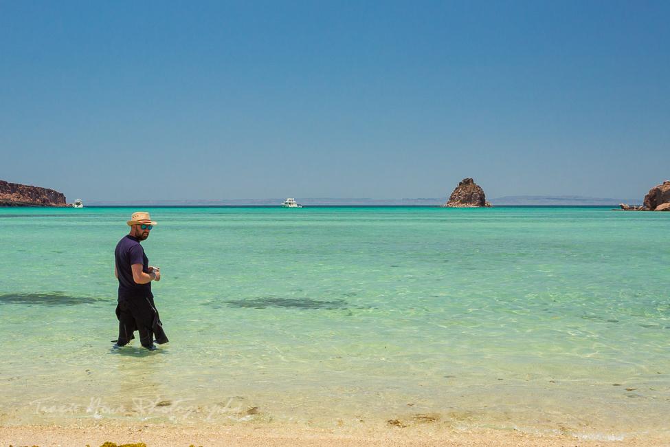 Espíritu Santo Island beach Baja