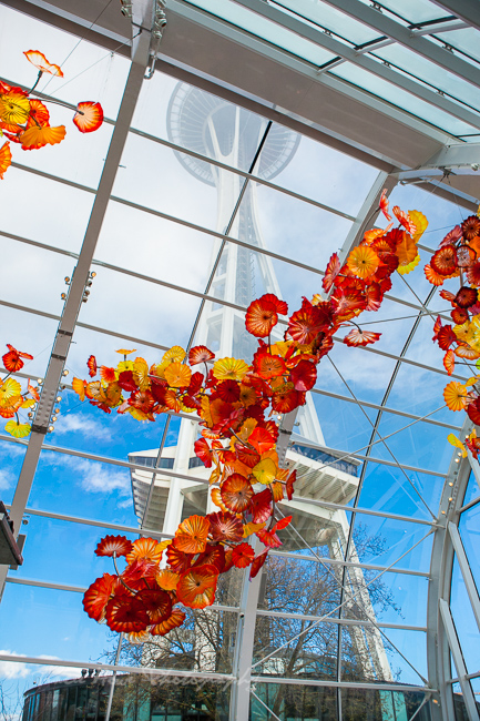 Seattle top 10 things to do - Chihuly Garden and Glass