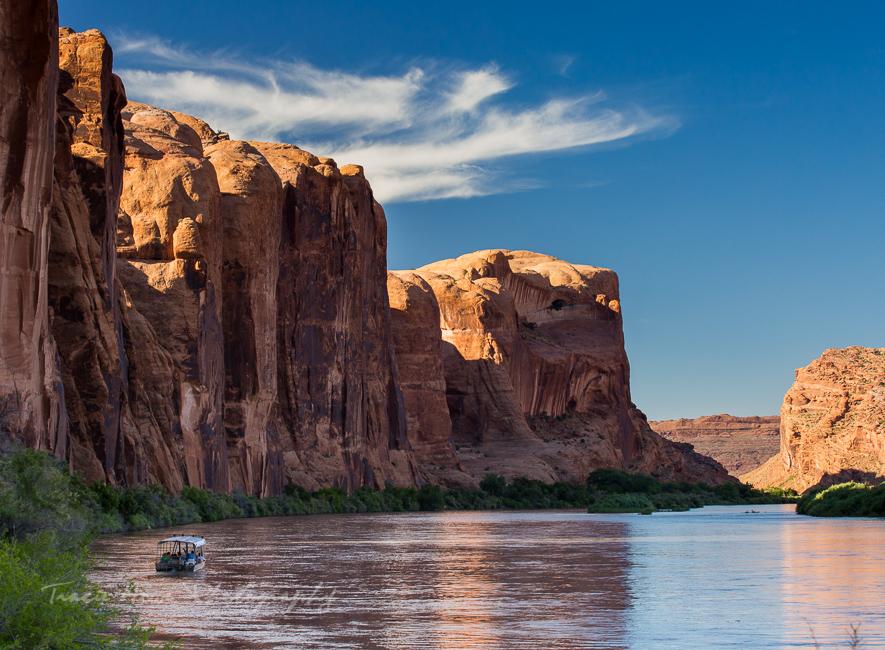 River along Hwy 279 Utah