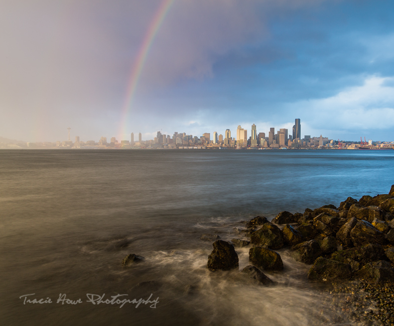 Best viewpoints in Seattle - Alki point