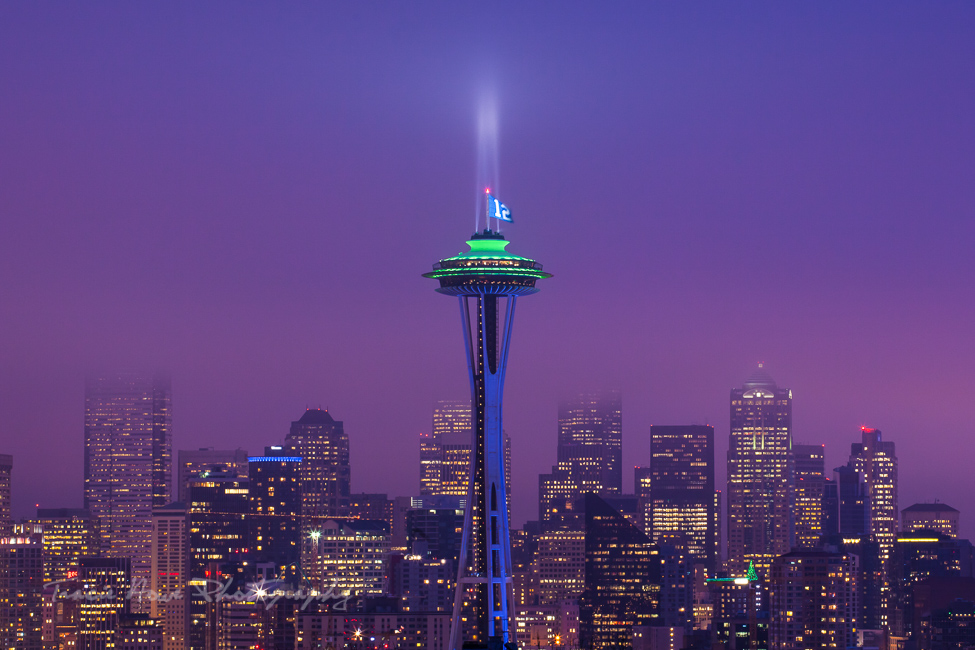 best city viewpoints in Seattle