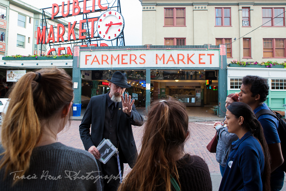 Pike Place Market ghost tour Seattle