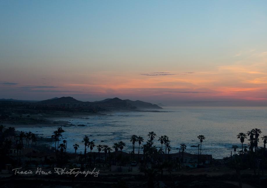 Baja Sur coast sunrise