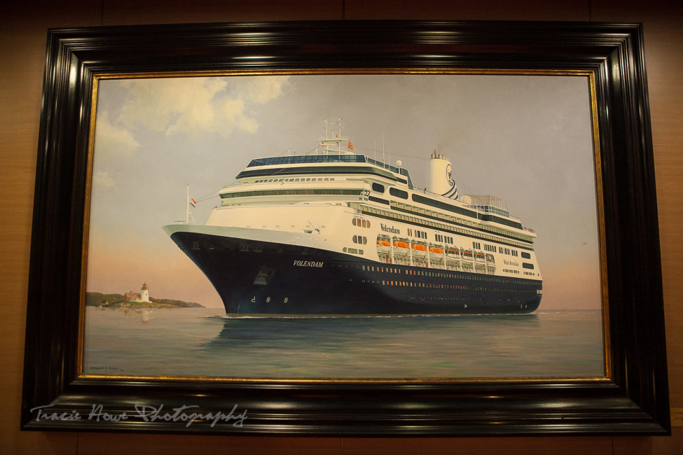 Painting of M.S. Volendam