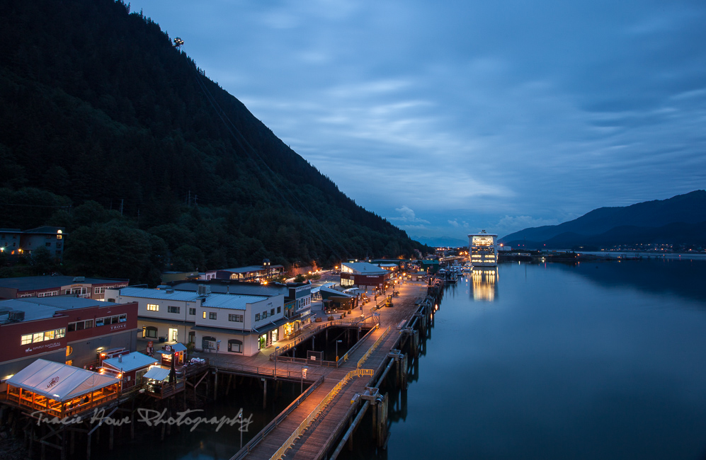 Cruise port in Juneau