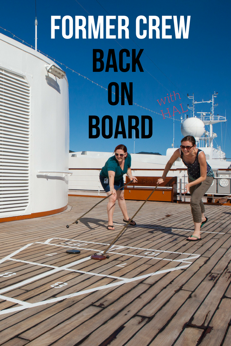 Jen & Tracie Go cruising - former Holland America crew back on board | Tracie Travels