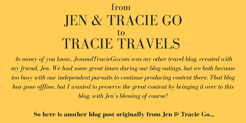 Jen and Tracie Go travel blog