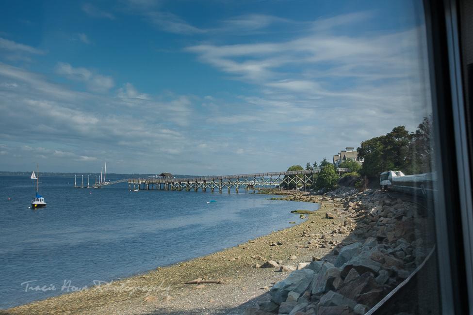 Amtrak Cascades scenic train