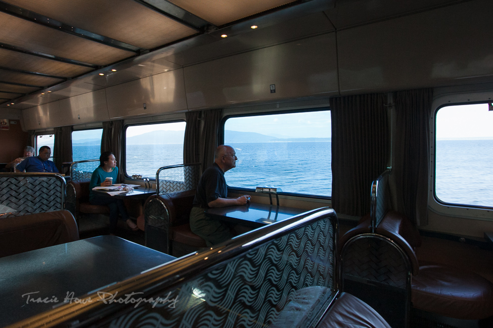 Amtrak Cascades scenic train