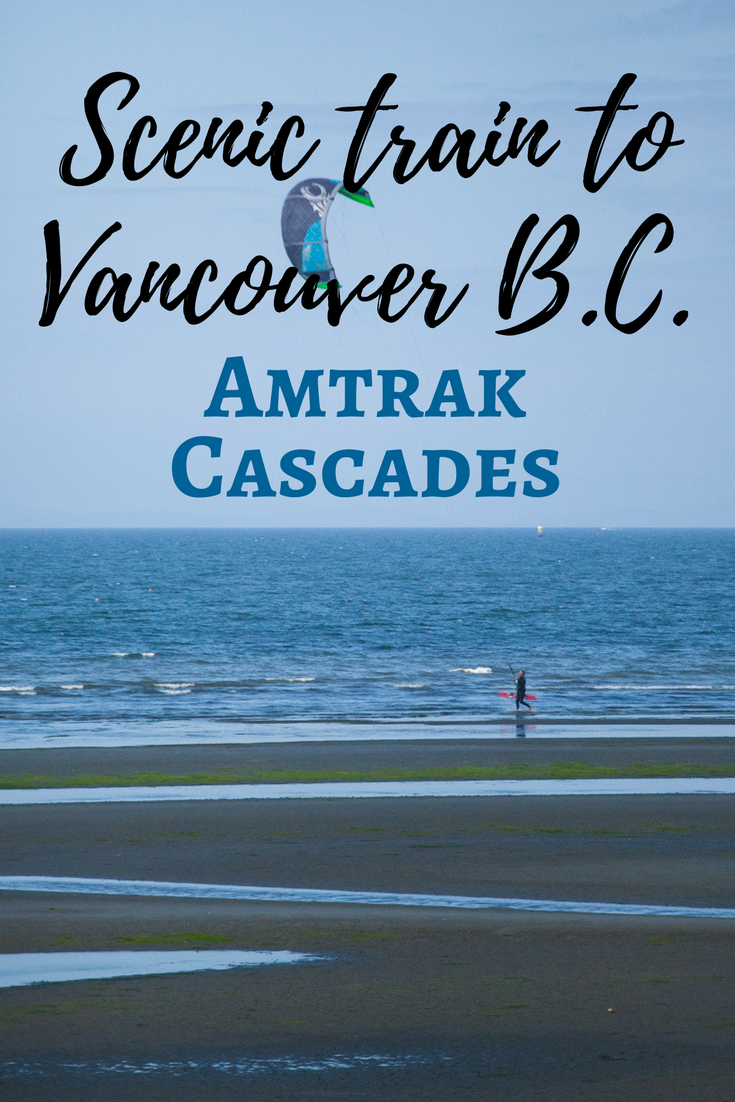 Jen & Tracie Go - Amtrak Cascades train from Seattle to Vancouver, B.C. | Tracie Travels