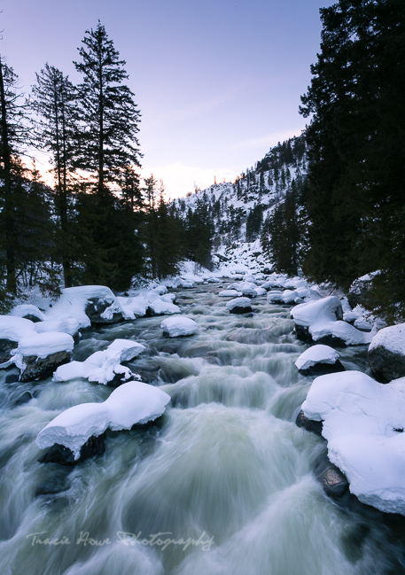 Leavenworth Icicle River