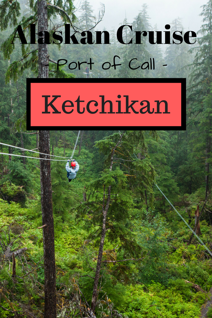 Ziplining in Ketchikan, Alaska | Tracie Travels