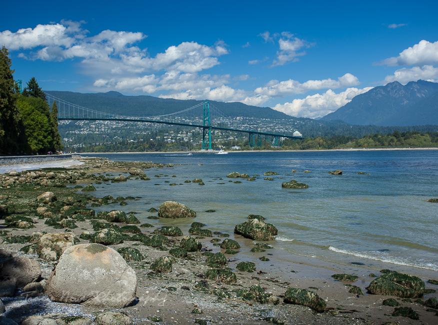Stanley Park beach, Vancouver B.C.
