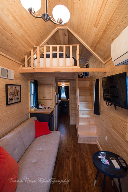 Wenatchee National Forest Tiny House interior