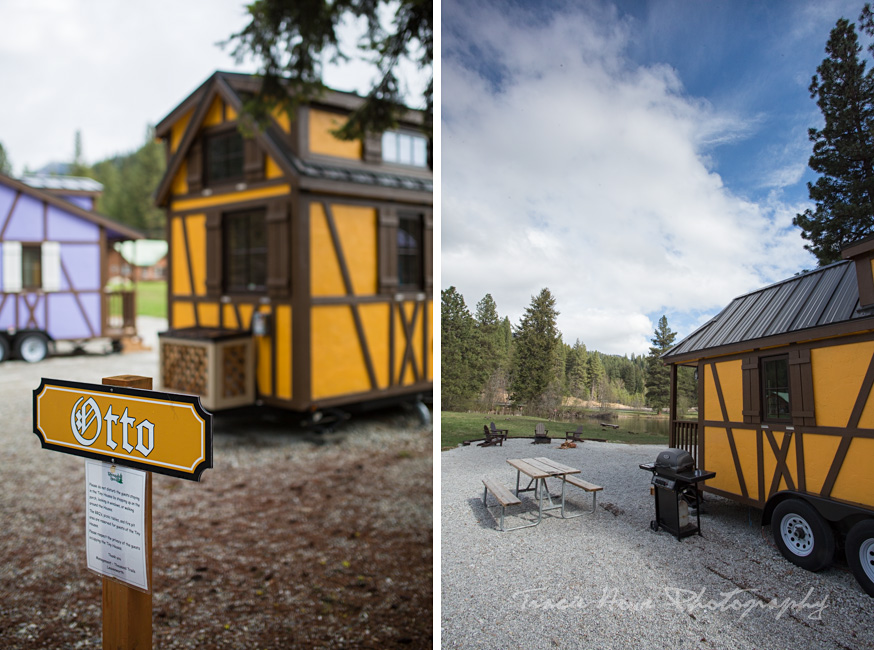 Leavenworth Tiny House amenities