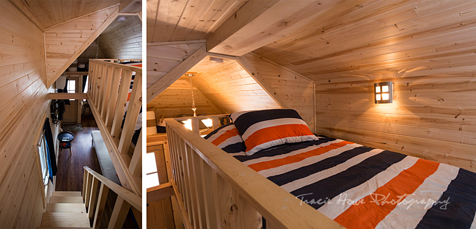 tiny house bed loft