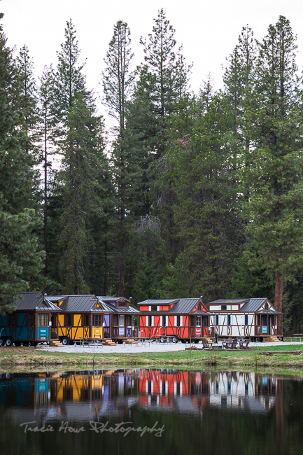 Leavenworth tiny house village reflection-1