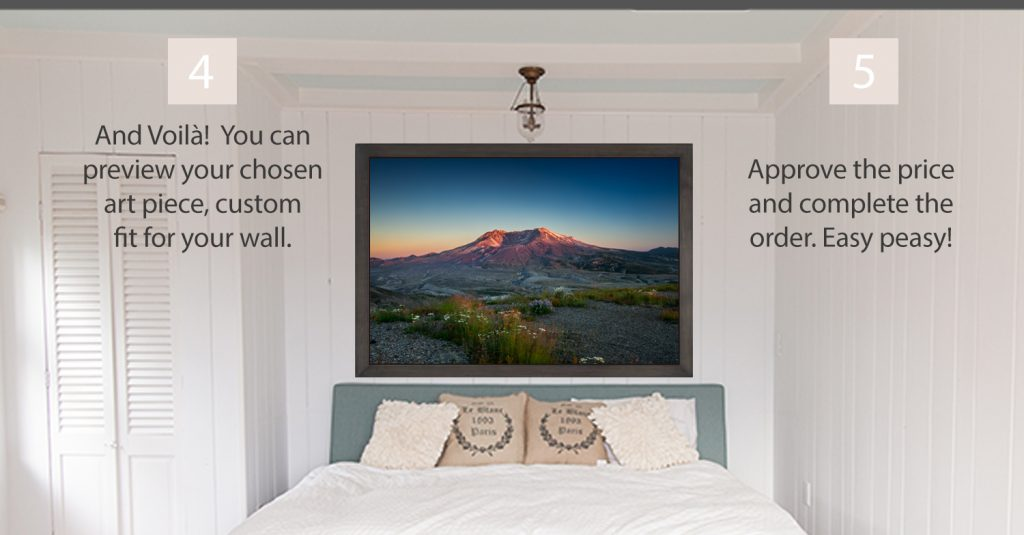 how to order custom photography for your walls